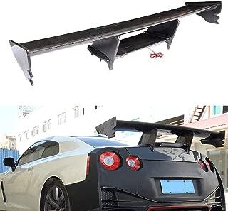 FidgetKute Fits for Nissan NISMO GTR R35 GT-R 09-15 Rear Trunk Spoiler Boot Wings Carbon Fiber
