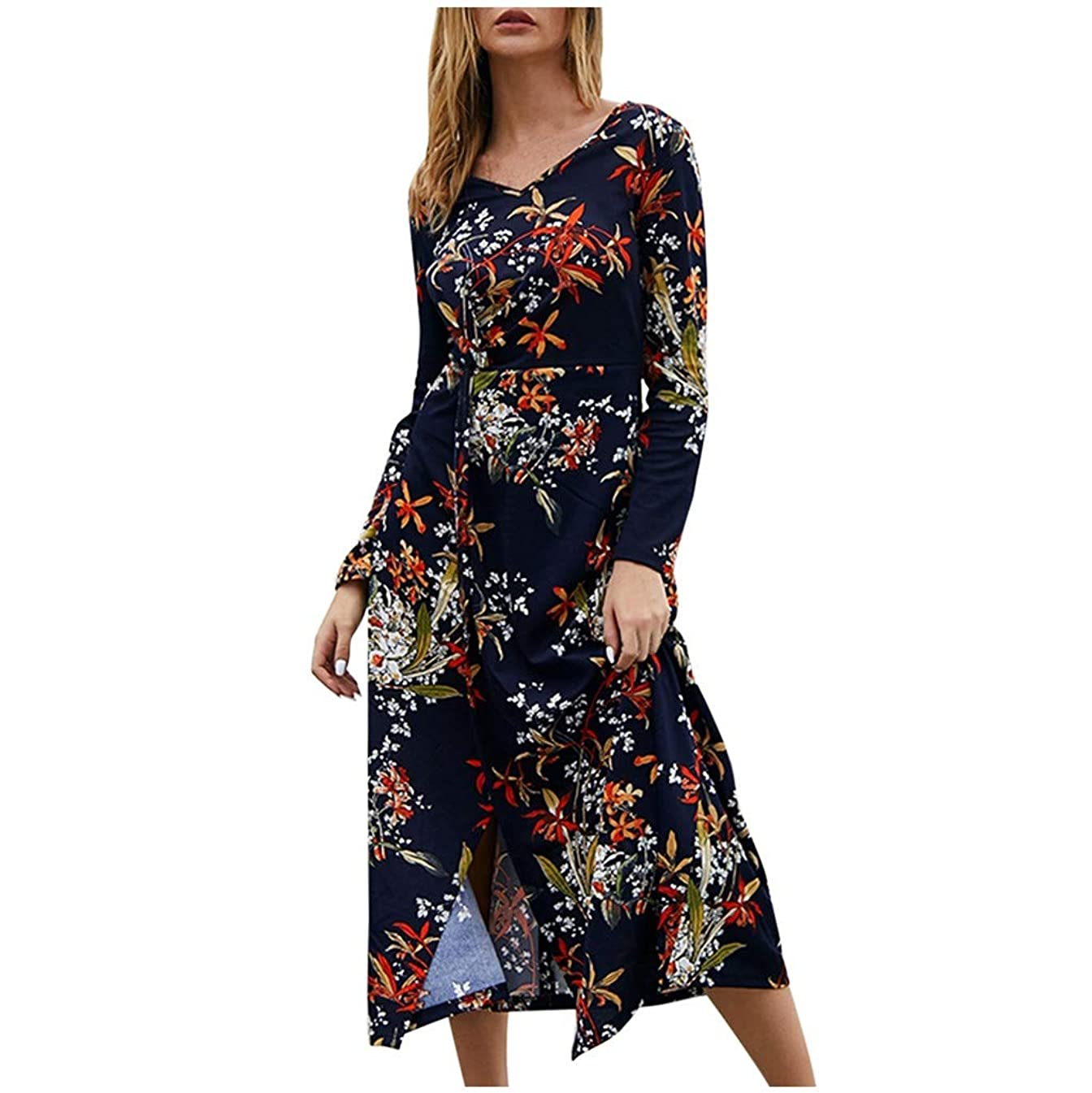 YKARITIANNA Fashion Women Slim Sexy O-Neck Solid Color Bow Print Long Sleeve 2019 Summer