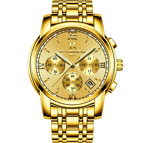Real Gold Watch Amazon Com