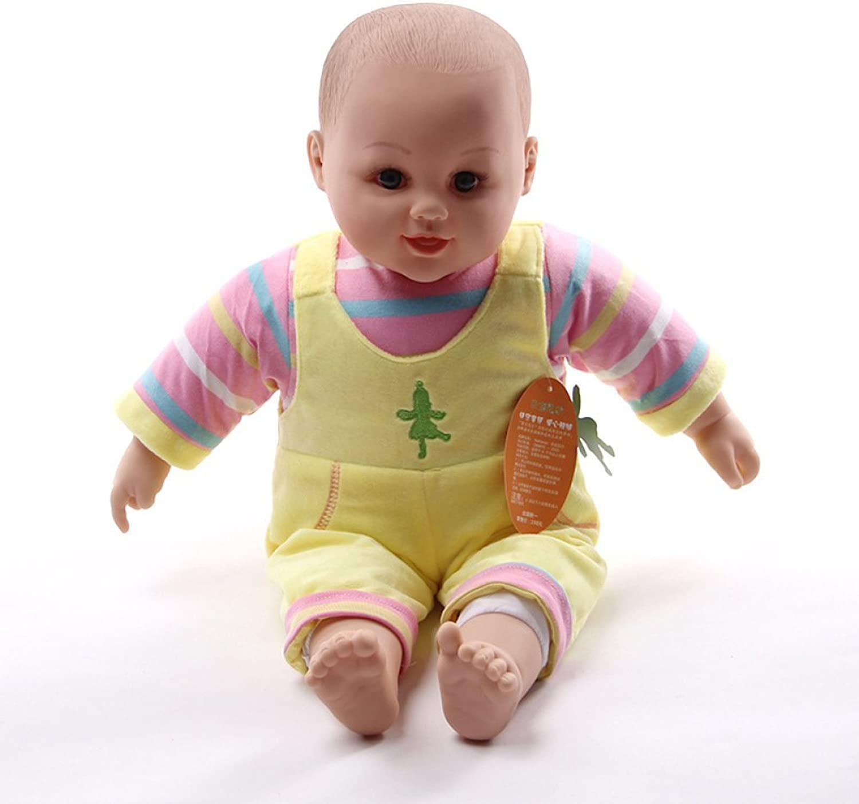 LIJUN Reborn Baby Doll Newborn Realistic Newborn Baby Silicone Vinyl Sleep Dream Doll (50cm),Yellow