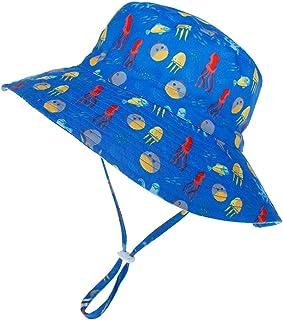 Arcweg Cappello da Sole Bambino Morbido Interno Traspirante 46-54CM