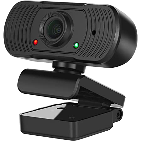 USB Desktop Laptop Camera OBS Game Streaming Video conferencing Suitable for PC HD 1080P Webcam with Microphone Suitable for Skype YouTube Remote Working Wide Angle USB Webcam MAC Twitch