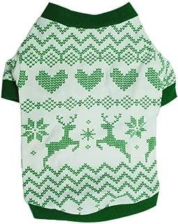 Lookvv Fashion Christmas Pet Dog Cotton Costume Small Dog Cat Pet Clothing Pet Vest Puppy T Shirt Apparel