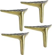 4 Stuks Metalen Driehoek Tafelpoten,Metalen Meubelpoten,Vervangende Bankpoten,Kastvoeten,Keuken Ondersteuning Voeten,Burea...