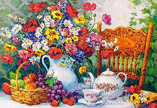 Castorland C-103836-2 Time for Tea, 1000 Teile Puzzle, bunt