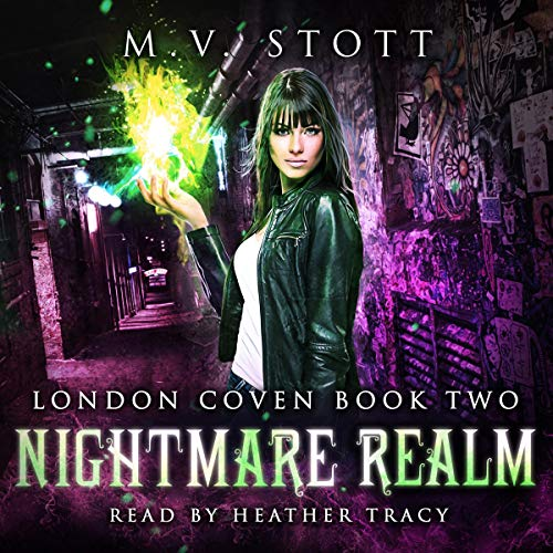 Nightmare Realm audiobook cover art