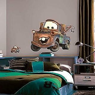 Roommates Disney Pixar Cars Mater Giant Wall Decal, Multi-Colour, RMK1519GM