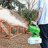 Vogvigo 5L Pulverizador eléctrico ULV Máquina de Niebla portátil Máquina de desinfección Pulverizadores de esterilización Industrial Nebulizador de nebulización para hospitales Jardín al Aire Libre
