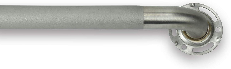 Keeney PP19343SG Stainless Steel Grab Bar Dia. モデル着用 在庫あり 注目アイテム In. 24 x 1.25