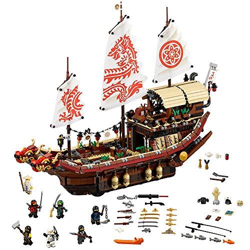 LEGO Ninjago Destiny's Bounty Building Kit, 2295 Piece