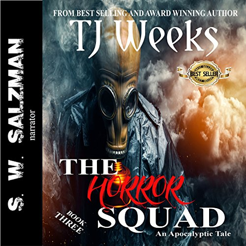 The Horror Squad 3 audiobook cover art
