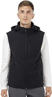 mens hooded vest