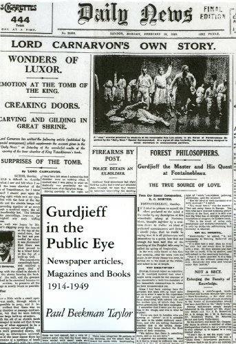 Compare Textbook Prices for Gurdjieff in the Public Eye - Newspaper Articles, Magazines and Books 1914-1949  ISBN 9789072395764 by J.Walter Driscoll,Paul Beekman Taylor