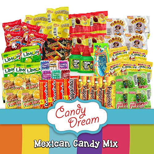 Candy Dream Mexican Candy Bag Mexican Candy Assortment Mexican Candy Mix Mixed Candy Assortment Bag Mexi Candy Pinata Candy Mix Mexican Candy Variety Pack - 53 Candies Bagged Candy Pica Pica Candy