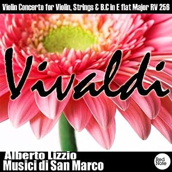 Vivaldi: Violin Concerto for Violin, Strings & B.C in E flat Major RV 256