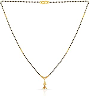 Malabar Gold and Diamonds 22k (916) Yellow Gold Mangalsutra for Women