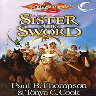 Sister of the Sword audiobook cover art