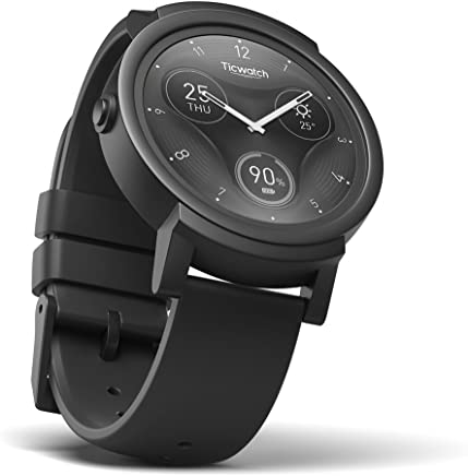 1d90af2685f9 Ticwatch E Express - Reloj inteligente con pantalla táctil OLED