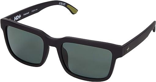 Sosi Matte Black Thin Green Line/HD Plus Gray Green Polar