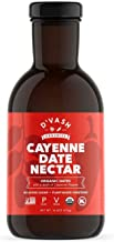 D'vash Organic Date Syrup With Cayenne Pepper, California Dates Superfood Sugar Substitute for Immune Support, Vegan Glute...