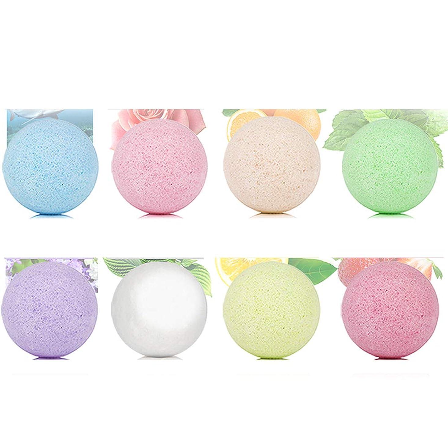 もっと農民野球バスボム 炭酸 入浴剤 ギフト 手作り お風呂用 8つの香りキット 天然素材 カラフル バスボール 母の日 結婚記念日 プレゼント
