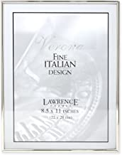 Lawrence Frames Simply Metal Picture Frame, 8.5 by 11-Inch, Silver