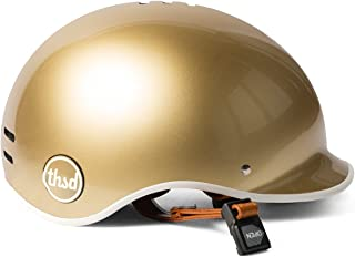 gold bike helmet