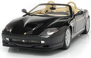 Hot wheels N2055 Ferrari 550 Barchetta Pininfarina Black Elite Edition 1/18 Diecast Model Car by Hotwheels