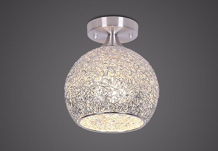 Lampe de plafond de tête simple de LED, B4 petite lumière chaude de 7W