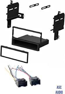 ASC Audio Car Stereo Radio Install Dash Kit and Wire Harness for installing an Aftermarket Single Din Radio for 2007 2008 2009 Kia Sorento