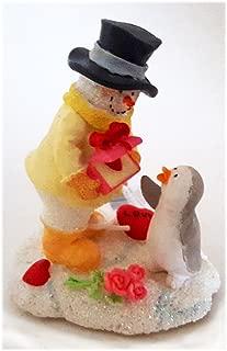 Russ Berrie Ice Sculptures You've Captured My Heart Snowman Figurine No. 4