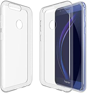 Huawei HONOR 8 TPU Silicone Clear Case Back Cover By Muzz