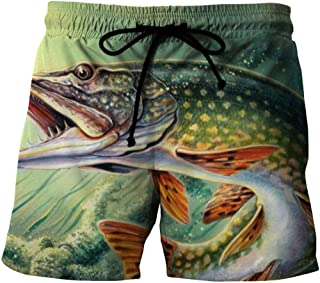 Men'S Clothing 3D Printing Of Quick-Drying Beach Shorts