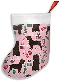 Boykin Spaniel Dog Dogs Dog Design Decorative Socks Christmas Tree Hanging Toys Candy Gift Bag Decorations and Party Supplies (42cm X 26cm)