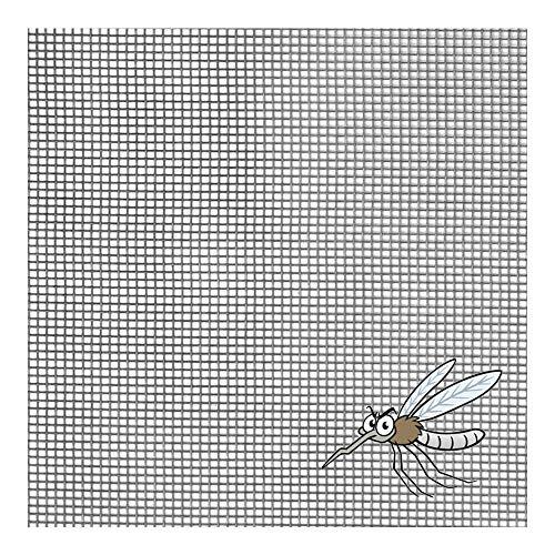 Tela mosquitera fibra vidrio gris rollo 30 metros (1.5 m)