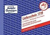 Avery Zweckform 1713 - Blocco a quadretti formato DIN A6, 2 x 40 fogli, bianco/giallo 3 x 40 foglio