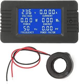 Digital Voltmeter, PEACEFAIR PZEM-022 AC Multifunction Digital Meter Power Energy Voltage Current Multimeter Ammeter Voltmete Tester 100A