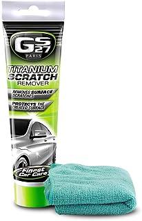 GS27 Paris Titanium+ Automotive Scratch Remover | for Car Paint Scratch Repair | Free Microfibre Cloth Included