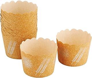 下村企販 マフィンカップ 30枚 ブラウン 日本製 29263