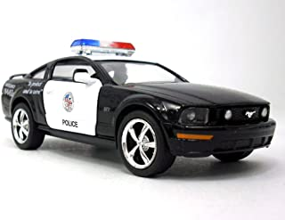 KiNSMART Ford Mustang GT 2006 1/36 Sclae Diecast Model Car - Police
