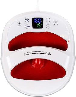 Máquina de prensa de calor para impresión de camisetas de 30.5 × 25.4 cm, portátil, manos libres, rápido calor uniforme, f...