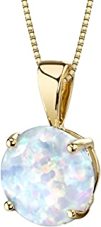 Best opal pendant gold Reviews