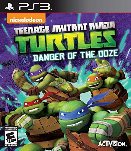 Teenage Mutant Ninja Turtles: Danger of the Ooze (PS3) [Edizione: Regno Unito]