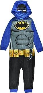 DC Comics Boys' Batman Superhero Onesie Pajamas, All-in-one Set