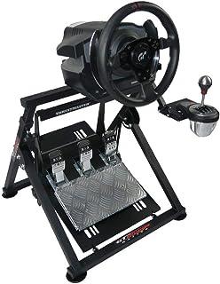 حامل عجلة القيادة جي تي أوميجا APEX لدراجة لوجيتك فاناتيك كلوبسبورت ثست ماستر لألعاب عجلة القيادة وناقل الحركة، TX T500 T3...