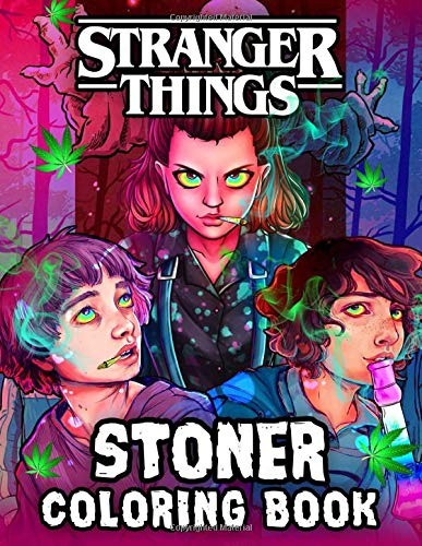 Stranger Things Coloring Book: A Fantastic Coloring Book Wit