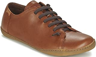 Camper Peu Cami 17665 Tan Mens Leather Lo Trainers Shoes