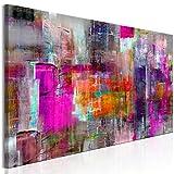 murando Quadro Astratto 120x40 cm 1 pezzo Stampa su tela in TNT XXL Immagini moderni Murale Fotografia Grafica Decorazione da parete colorato come dipinto a-A-0217-b-c