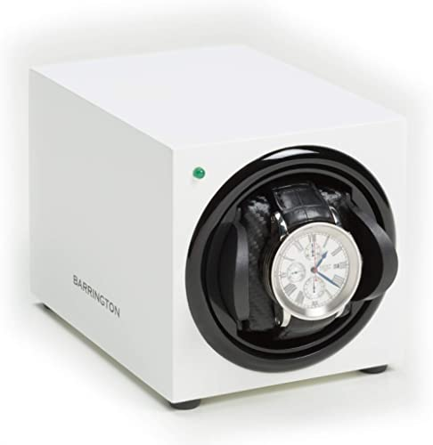 BARRINGTON Automatic Watch Winder for 1 Watch - Compact, Quality, Single Watch Winder Box, Super Quiet Motor, Battery...