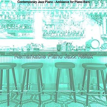 Contemporary Jazz Piano - Ambiance for Piano Bars